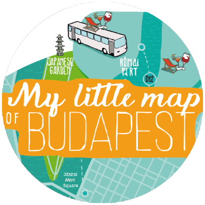 My Little Map of Budapest